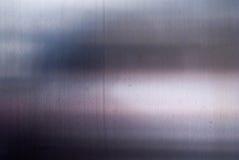 Fondo plateado de metal Fotografía de archivo
