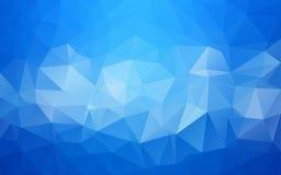 Fondo poligonal abstracto, Foto de archivo