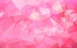 Fondo poligonal abstracto, Imagenes de archivo
