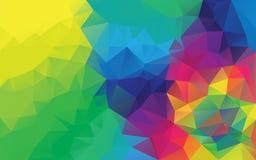 Fondo poligonal abstracto, Fotos de archivo libres de regalías