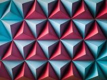 Fondo poligonal abstracto Imagen de archivo libre de regalías