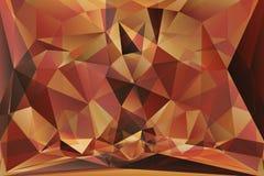 Fondo poligonal abstracto Imagen de archivo