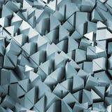 Fondo poligonal abstracto 3d Foto de archivo