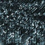 Fondo poligonal abstracto 3d Fotografía de archivo