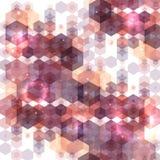 Fondo poligonal abstracto del vector Imagen de archivo libre de regalías