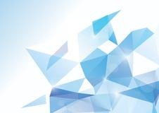 Fondo poligonal abstracto del vector libre illustration