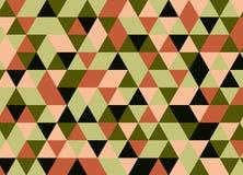 Fondo poligonal abstracto Modelo geométrico Backdro del vector Fotos de archivo libres de regalías