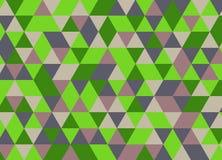 Fondo poligonal abstracto Modelo geométrico Backdro del vector Fotografía de archivo