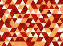 Fondo poligonal abstracto Modelo geométrico Backdro del vector Fotos de archivo