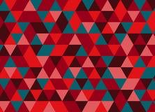Fondo poligonal abstracto Modelo geométrico Backdro del vector Imágenes de archivo libres de regalías