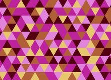Fondo poligonal abstracto Modelo geométrico Backdro del vector Foto de archivo libre de regalías