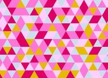 Fondo poligonal abstracto Modelo geométrico Vector Fotografía de archivo libre de regalías