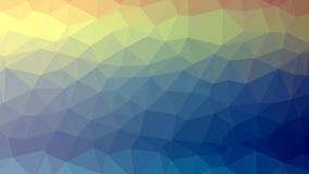 Fondo poligonal colorido del mosaico, ejemplo del vector, creativo, estilo de la papiroflexia con pendiente ilustración del vector