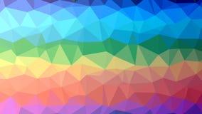 Fondo poligonal colorido del mosaico, ejemplo del vector, creativo, estilo de la papiroflexia con pendiente libre illustration
