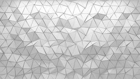fondo poligonal 3D Fotos de archivo libres de regalías