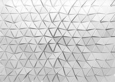 fondo poligonal 3D Imagen de archivo libre de regalías