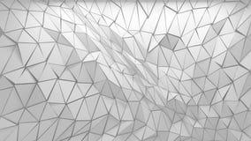 fondo poligonal 3D Foto de archivo libre de regalías