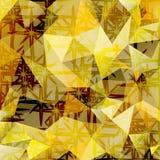 Fondo poligonal del extracto del vector del mosaico Fotografía de archivo libre de regalías