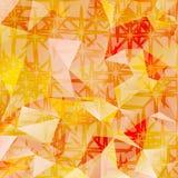 Fondo poligonal del extracto del vector del mosaico Imagen de archivo