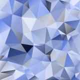 Fondo poligonal del extracto del vector del mosaico Fotografía de archivo