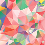 Fondo poligonal del extracto del vector del mosaico Imagen de archivo libre de regalías