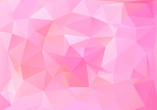 Fondo poligonal del mosaico Imagen de archivo