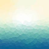 Fondo poligonal del mosaico, ejemplo del vector, diseño de negocio Imagen de archivo libre de regalías