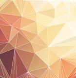 Fondo poligonal del triángulo abstracto Imágenes de archivo libres de regalías