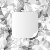 Fondo poligonal del triángulo abstracto Fotos de archivo libres de regalías