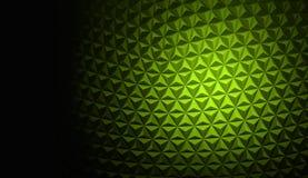 Fondo poligonal verde Foto de archivo libre de regalías