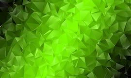 Fondo poligonale astratto Immagine Stock