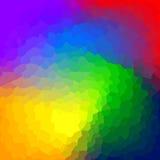 Fondo poligonale astratto. Fotografia Stock