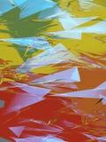 Fondo poligonale astratto illustrazione vettoriale
