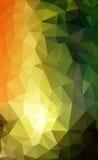 Fondo poligonale astratto Immagini Stock