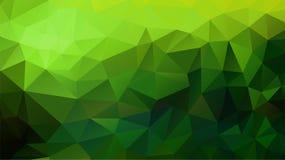 Fondo poligonale astratto Fotografie Stock Libere da Diritti