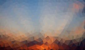 Fondo poligonale astratto Fotografia Stock Libera da Diritti