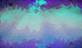 Fondo poligonale astratto Fotografia Stock