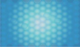 Fondo poligonale astratto blu per l'utente di web o come carta da parati Fotografia Stock Libera da Diritti