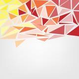 Fondo poligonale astratto moderno Colourful con spazio per te royalty illustrazione gratis