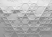 fondo poligonale 3D Fotografie Stock