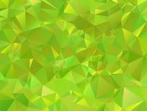 Fondo poligonale del mosaico Fotografie Stock