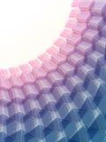 Fondo poligonale del mosaico, illustrazione di vettore, progettazione di affari Fotografie Stock
