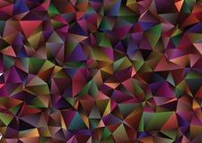 Fondo polivinílico bajo abstracto Clip art del vector Fotografía de archivo libre de regalías