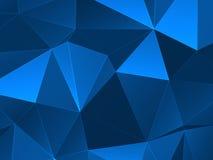 Fondo polivinílico bajo colorido abstracto del vector Foto de archivo