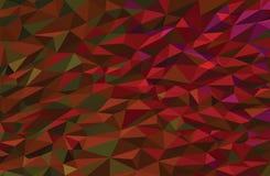 Fondo polivinílico bajo colorido del vector fotografía de archivo libre de regalías