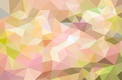 Fondo polivinílico bajo colorido geométrico Fotografía de archivo libre de regalías