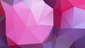 Fondo polivinílico bajo geométrico abstracto Imagen de archivo