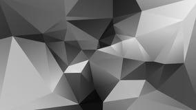 Fondo polivinílico bajo geométrico abstracto Imagen de archivo libre de regalías