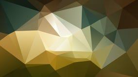Fondo polivinílico bajo geométrico abstracto Foto de archivo libre de regalías