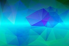 Fondo polivinílico bajo púrpura de los azules turquesa libre illustration